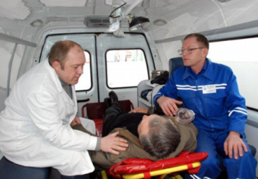 ВБрянске сбитый маршруткой №47 пенсионер получил тяжелые травмы
