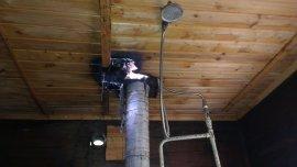 Из-за неправильного устройства дымохода в Брянске горела баня