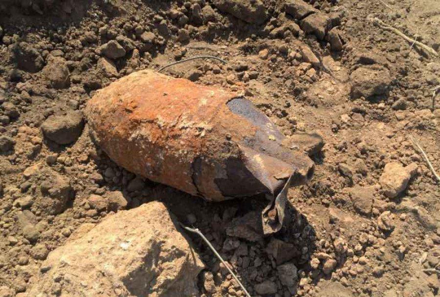 В центре Брянска нашли 2 бомбы и 8 снарядов