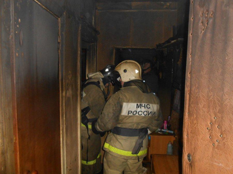В Брянске на Володарке утром горела квартира
