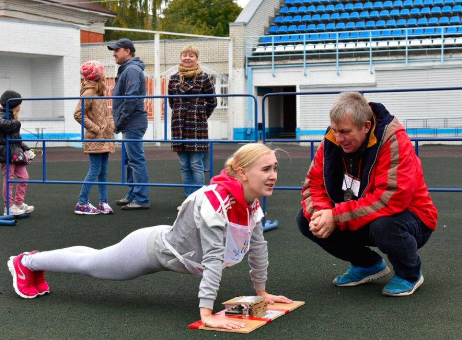 В Брянске выросло число желающих сдать нормы ГТО