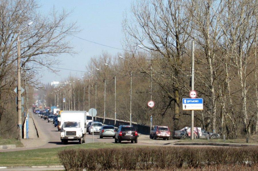 ВБрянске с1января ограничат движение поЛитейному мосту