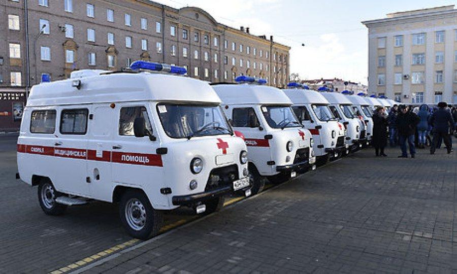 Брянская область получила 12 новых авто скорой помощи