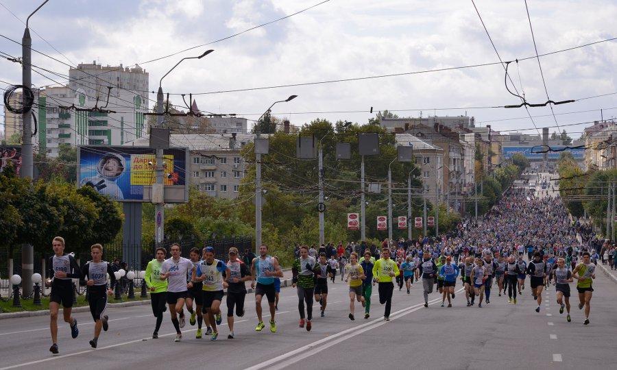 Взабеге «Кросс нации 2016» поучаствовали шесть тыс. иркутян