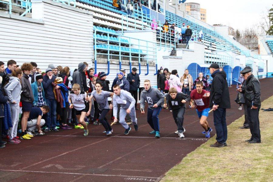 В Брянске прошла легкоатлетическая эстафета