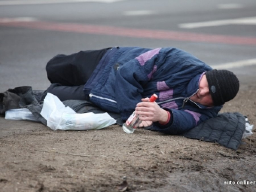 ВПогаре автомобиль сбил нетрезвого пешехода на«зебре»