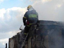 Из-за короткого замыкания в Фокино сгорела дача