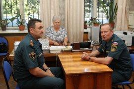 В Брянске побывал начальник центрального регионального центра МЧС