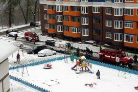 В брянском МЧС рассказали подробности спасения мужчины при пожаре в «Речном»