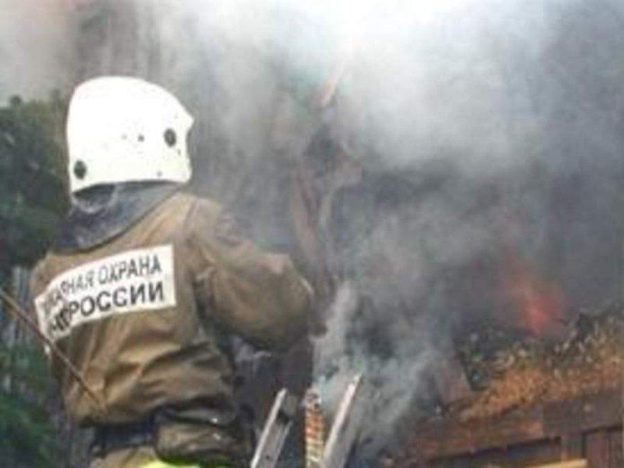 В Брянском районе сгорела дача