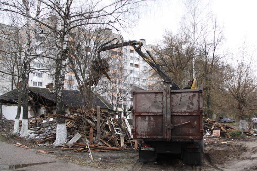 ВБрянске снесли 124 ветхих барака