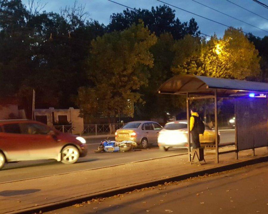 ВБрянске вДТП пострадал мотоциклист