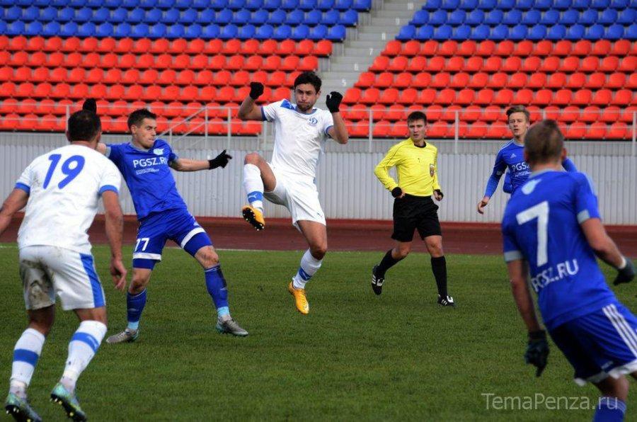 Брянское «Динамо» в 5-й раз победило ссухим счётом