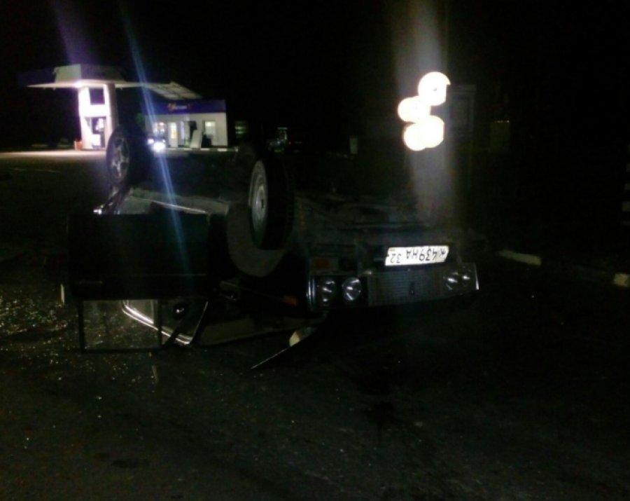 Под Брянском нетрезвый шофёр Ауди «перевернул» «ВАЗ»: ранен ребенок