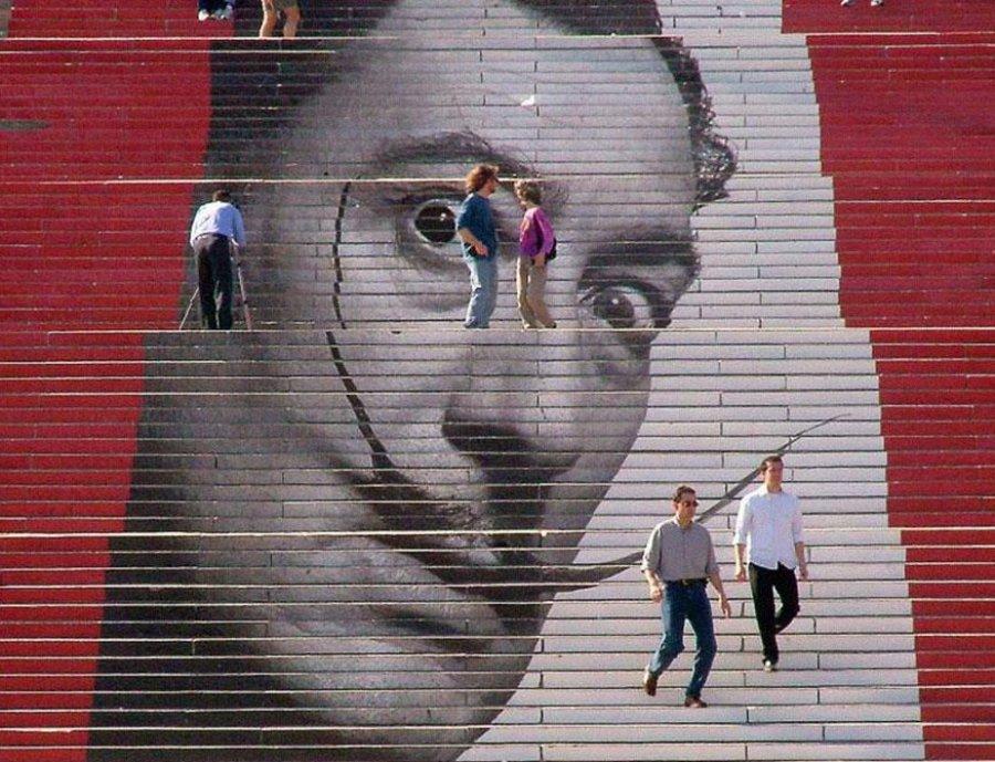 Лестницу к монументу Артиллеристам вБрянске приведут впорядок