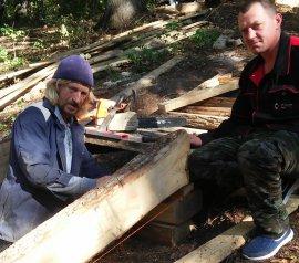 Жители брянского села восстановили разрушенный святой источник