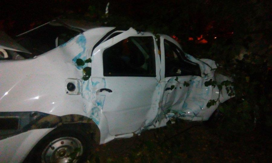 ВБрянске злоумышленники угнали такси иврезались востановку, есть пострадавшие
