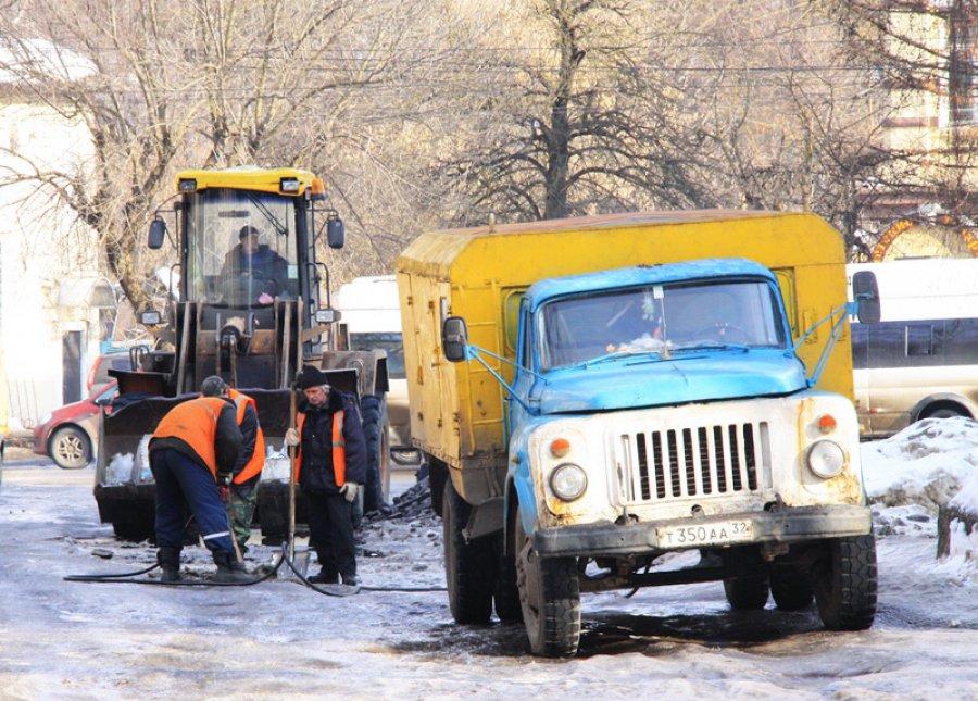 Ремонту брянских дорог декабрь нестал помехой
