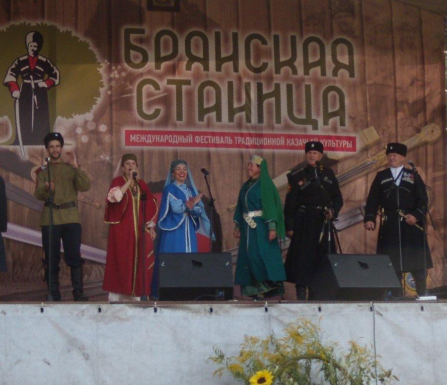 ВБрянске встретились казаки иказачки Центральной РФ и Беларуси