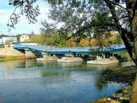 В Брянске снова закроют понтонный мост