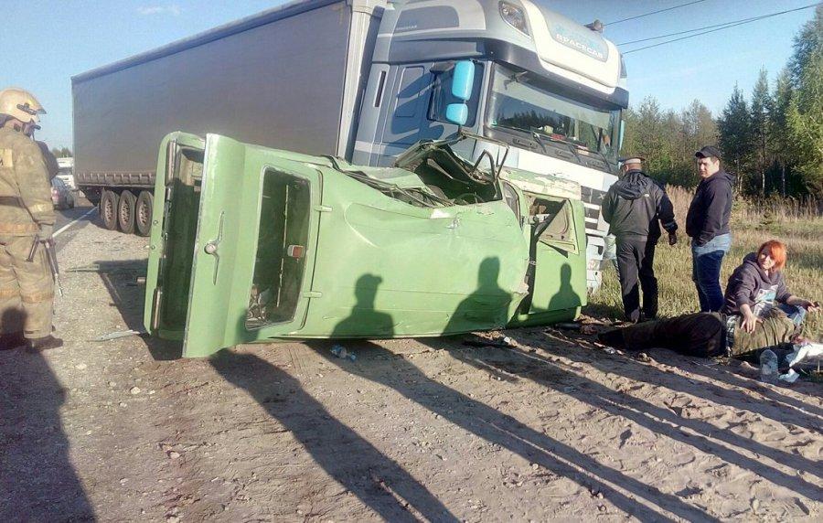Два человека пострадали вДТП под Брянском