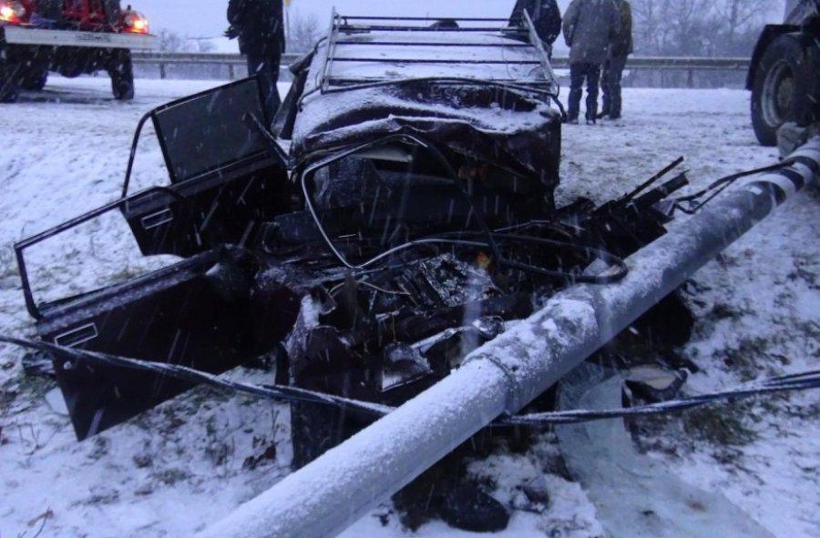 Вжутком столкновении набрянской трассе погибли два человека