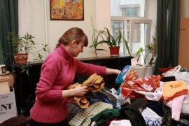 В Брянске собирают одежду для бездомных