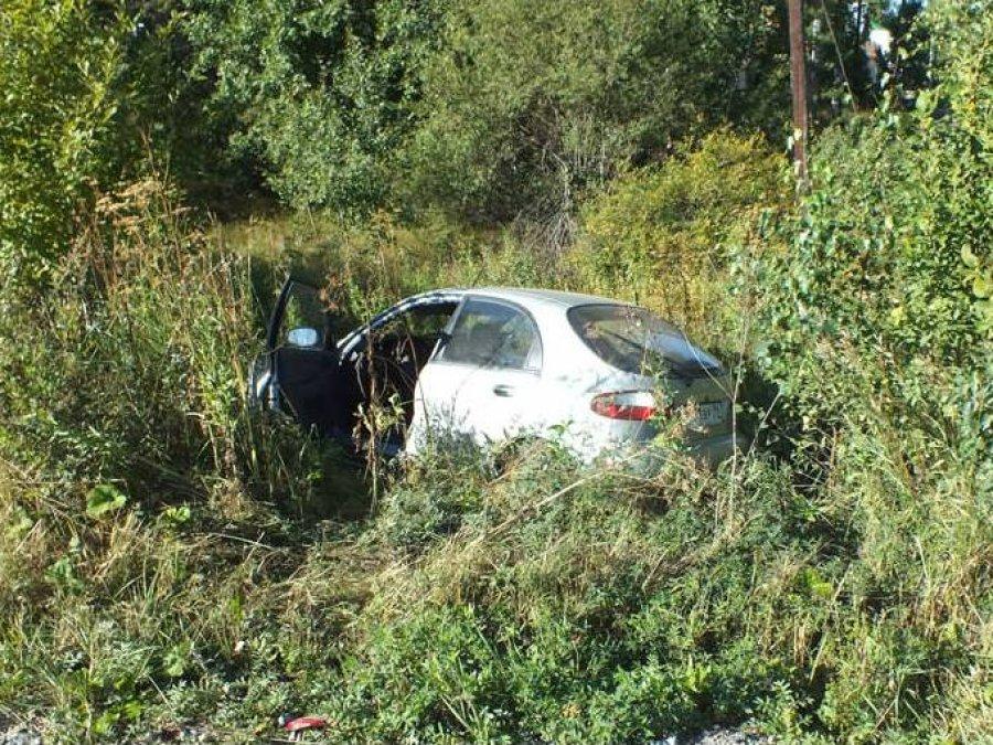 Набрянской трассе «Subaru» вылетела вкювет: ранена 13-летняя девочка