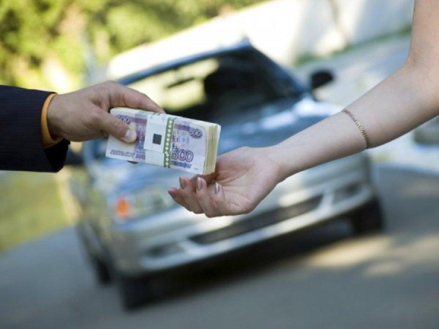 Чтобы реализовать «Лексус» жительница Брянска оплатила долг в 60 000 руб.