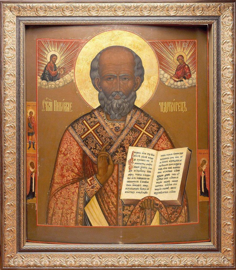 Икону Святого Николая полицейские Брянщины вернули жительнице Новозыбкова