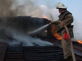 В гордеевском селе огнем уничтожена баня