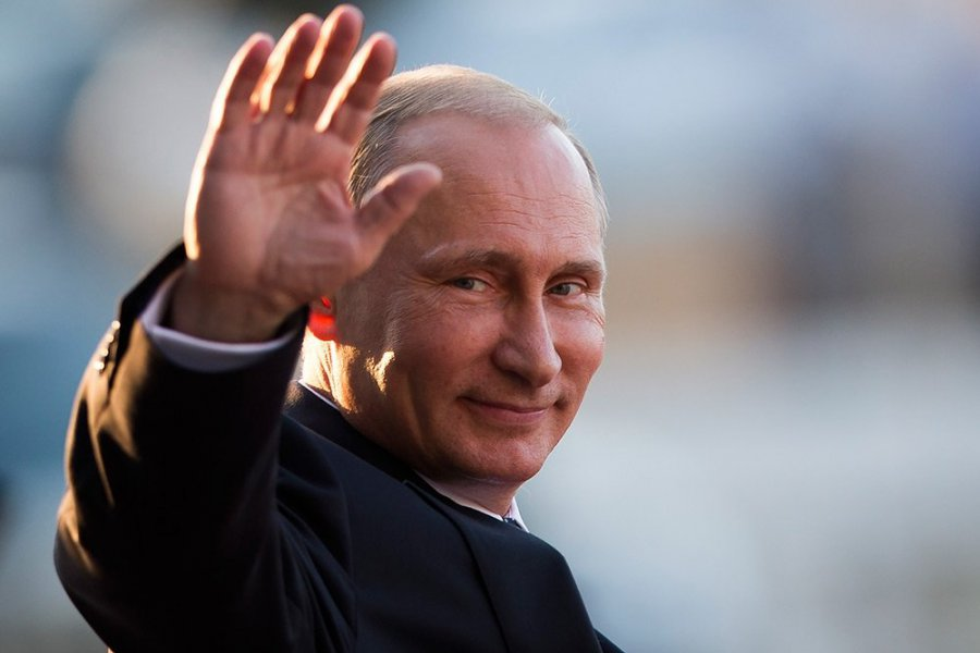 Путин назвал хорошим автомобилем Лада Kalina