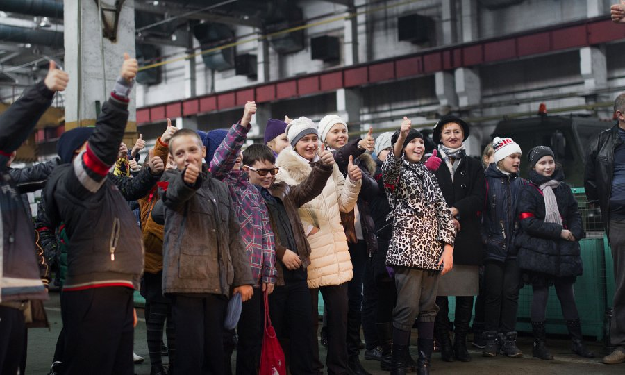 Туристический маршрут для школьников открылся наБрянском автомобильном заводе