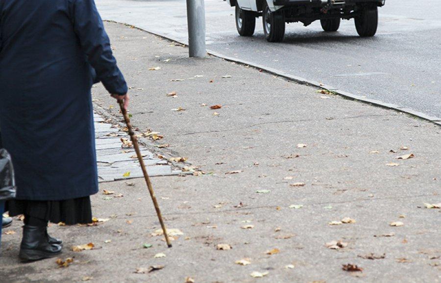 ВБрянске под колесами Киа  погибла 81-летняя пенсионерка