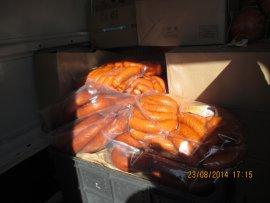 В Брянск не пустили 1727 кило белорусских колбас