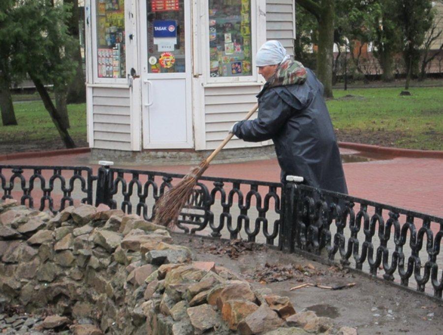 ВБрянске готовят кзапуску фонтан вКруглом сквере