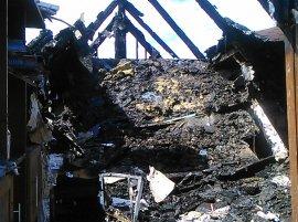 В МЧС ответили на обвинения после пожара в доме бывшего мэра Брянска