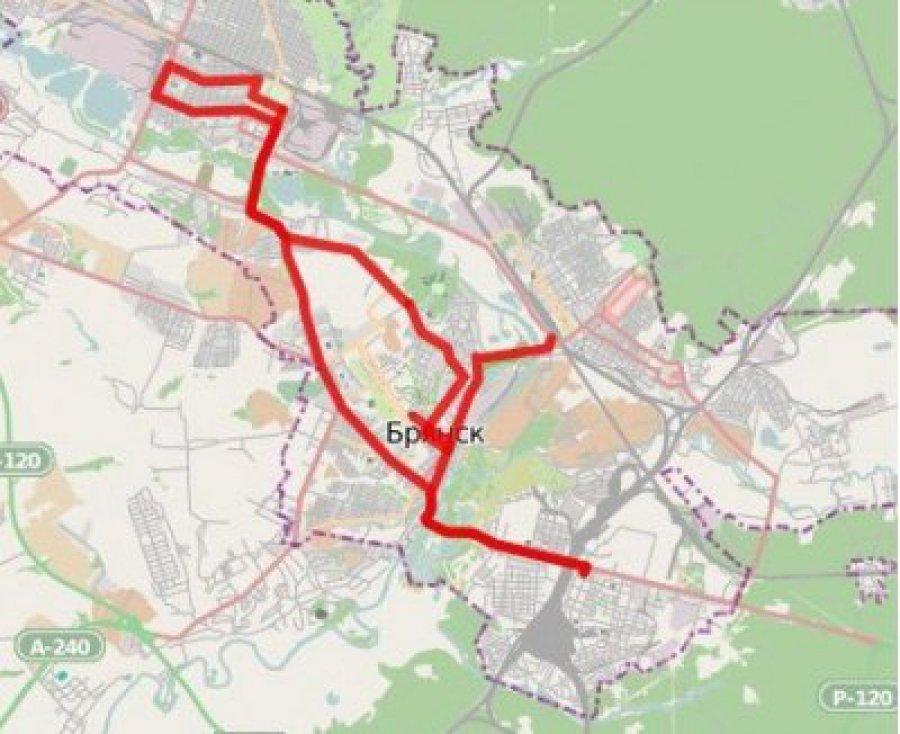 Общая протяженность маршрута