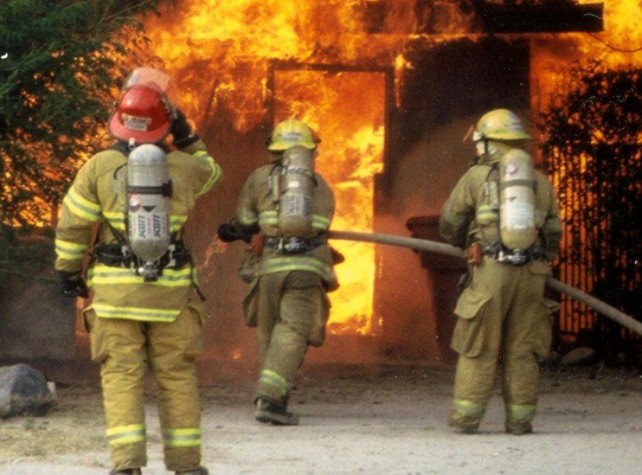 Вовремя пожара вжилом доме вТрубчевске умер  мужчина