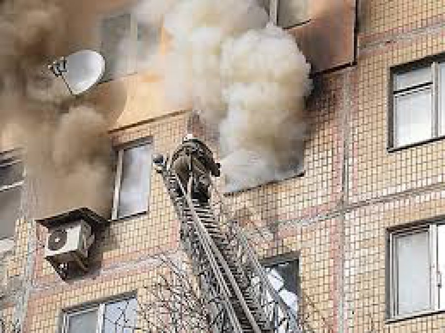 Вквартире поулице Рылеева вБрянске зажегся шкаф