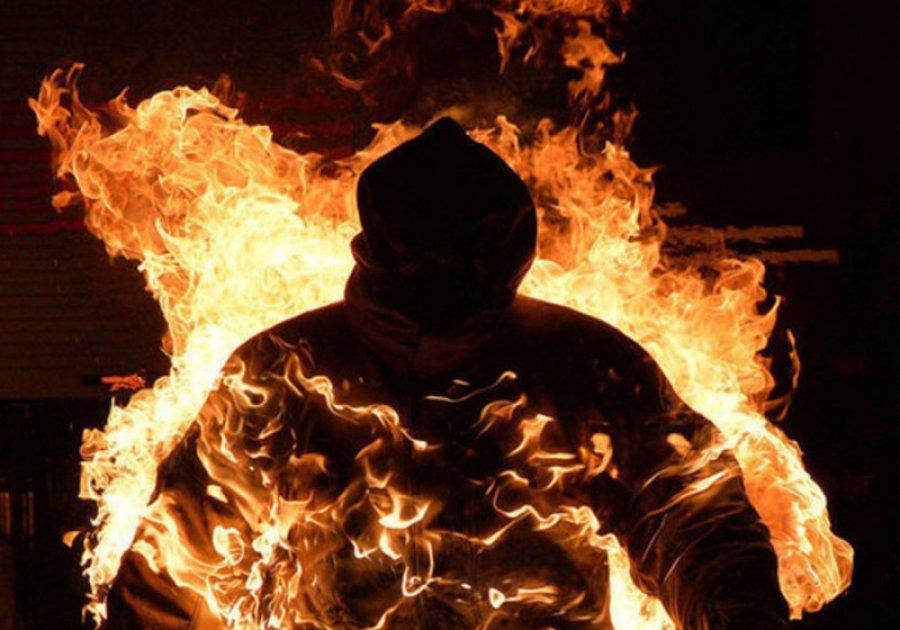 Брянец живьем  сжег собутыльника напроспекте Станке Димитрова