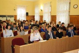 В Брянске депутат Бугаев напутствовал молодежный парламент