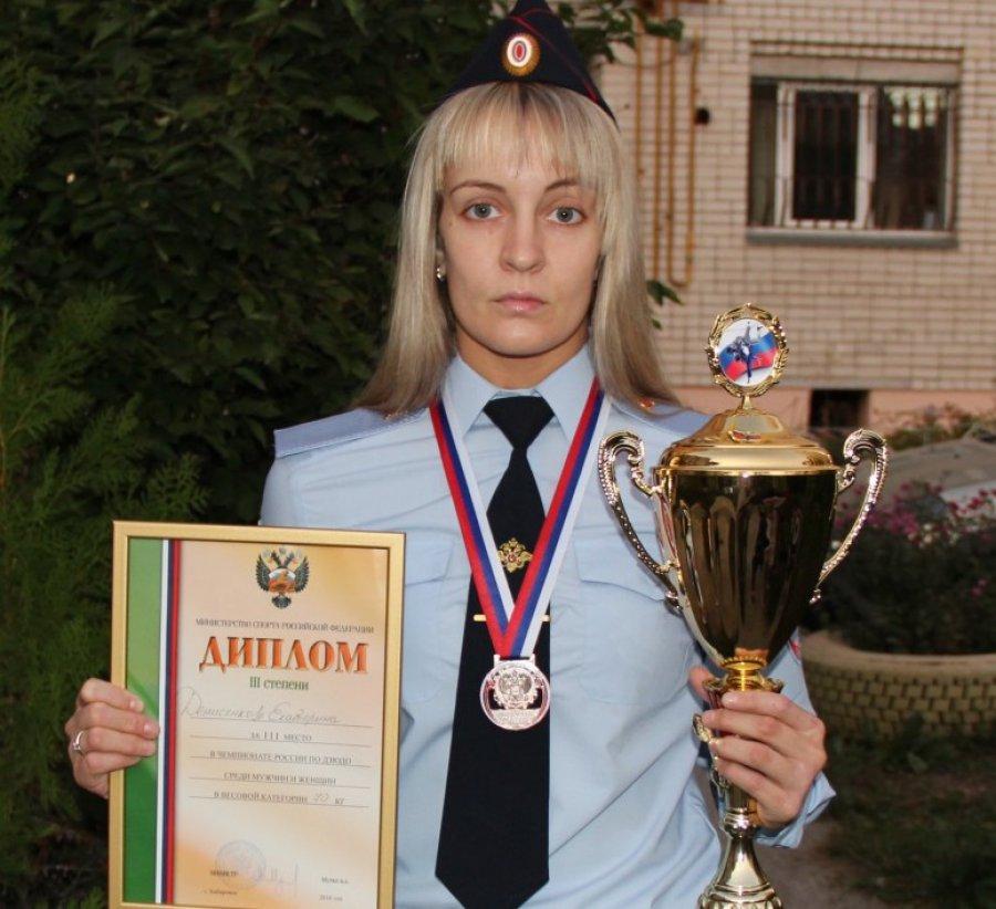 Брянская дзюдоистка Екатерина Денисенкова завоевала «бронзу» наЧР