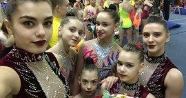 Брянские акробатки завоевали две золотые медали на Кубке России