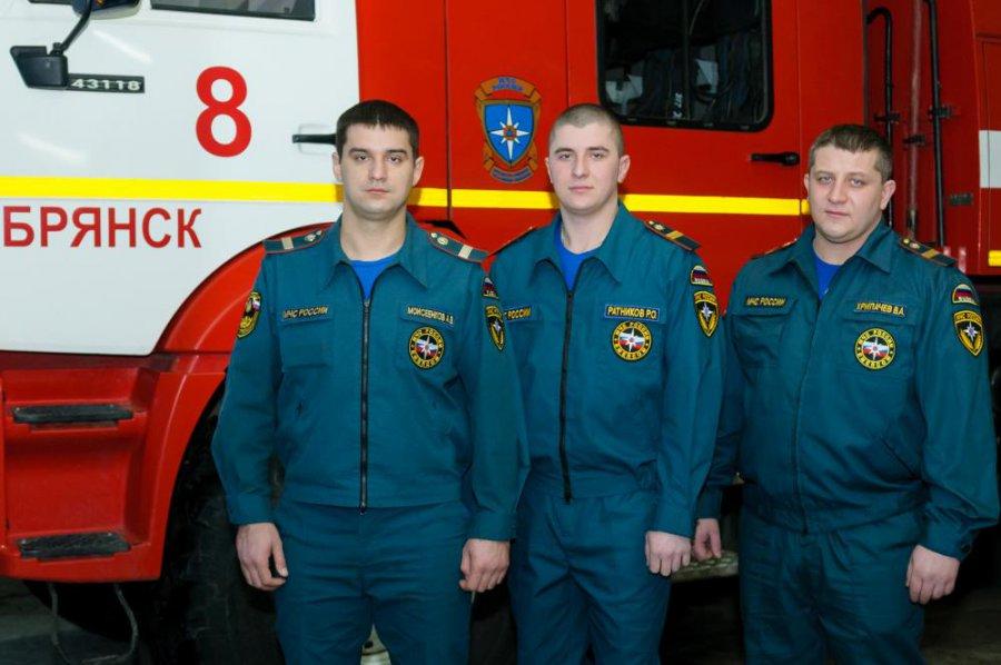 Владелец сгоревшей сауны поблагодарил брянских пожарных