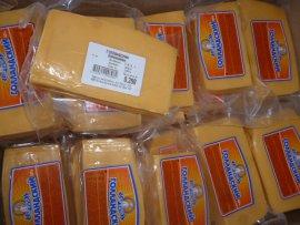 В Брянск не пустили 33 тонны молдавского сыра