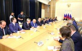 Брянский губернатор Богомаз встретился с Путиным