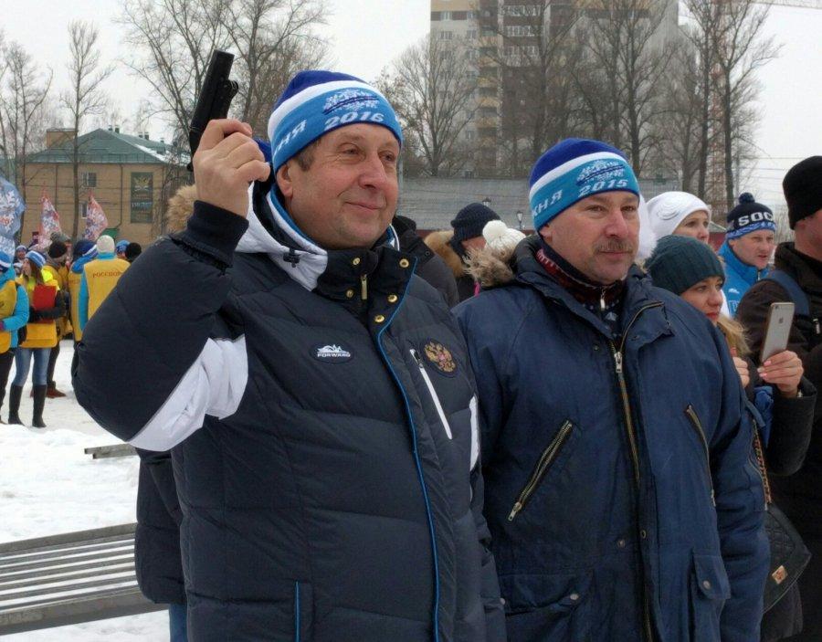 Все отмала довелика— на«Лыжню России»