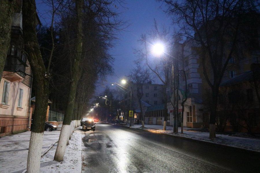 ВБрянске провели освещение на69 дорогах
