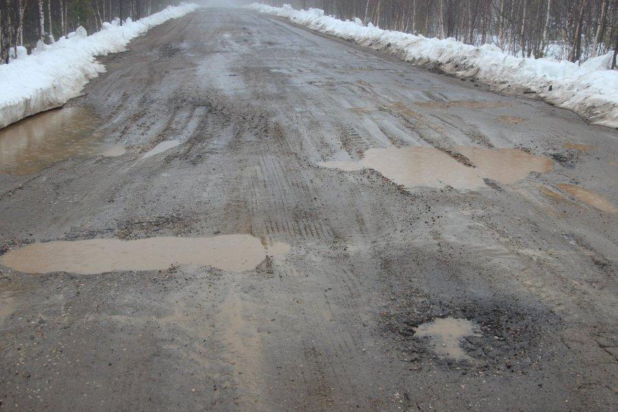 Из-за разбитой дороги граждане брянского села оказались отрезаны отмира